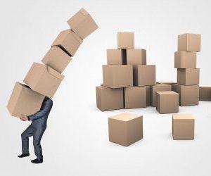pudełka kartony